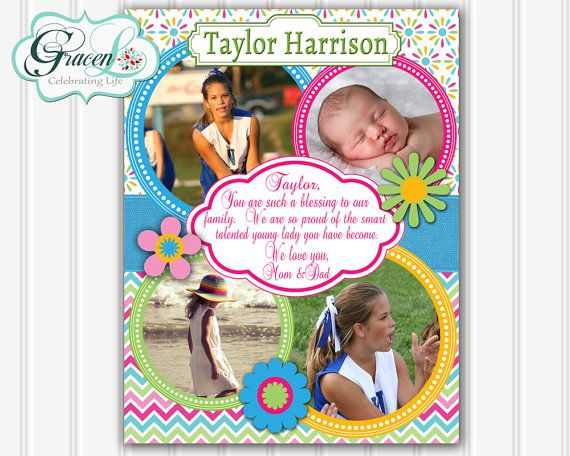 Yearbook Ad Senior Yearbook Ad Personalized by GracenLDesigns