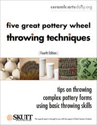 Ceramic Arts Daily – Ceramic Art Lesson Plan: A Three Stage Approach to Teaching Wheelthrowing