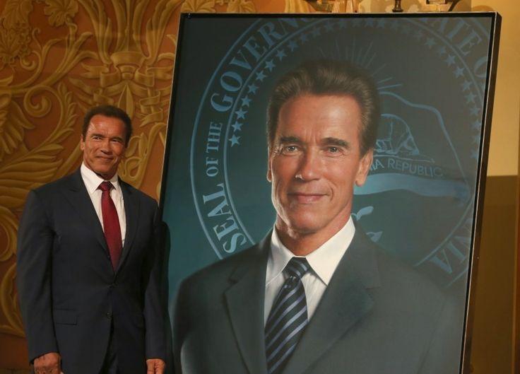 Gov. Schwarzenegger chose fellow Austrian Gottfried Helnwein for his official portrait.