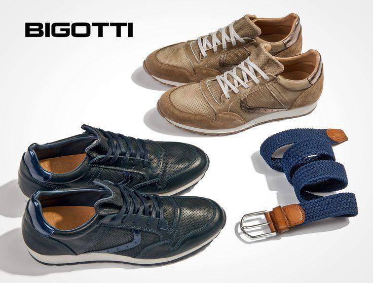 #Fine, #perforated #leather, #flexible #sole, the #new #Bigotti #sneakers - a #great #choice for this #time of #year www.bigotti.ro #Bigottiromania #moda #barbati #incaltaminte #pantofi #piele #perforata #talpa #flexibila #mensfashion #mensstyle #cool #modern #comfortable #sneakersi #shoes #urban #look #braided #textile #belts #curele #textile #followus