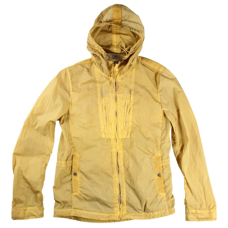 CP Company Yellow Hooded Jacket