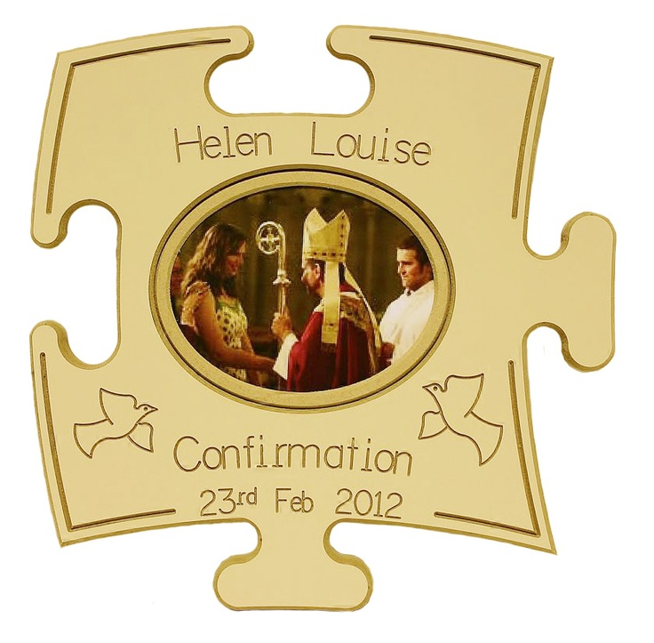 Personalised Confirmation puzzle boards