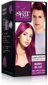 - Splat Complete Kits include everything you need for both the bleaching process and the color process. - Splat's Unique formula gives hair extremely vivid, long-lasting color. It is fun and easy to u