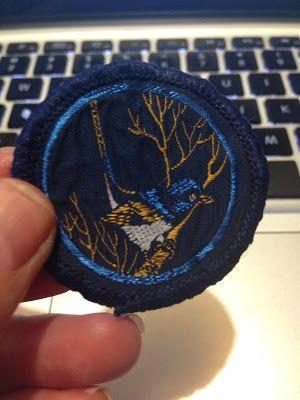 Blue Wren obsolete Australian Guide patrol emblem