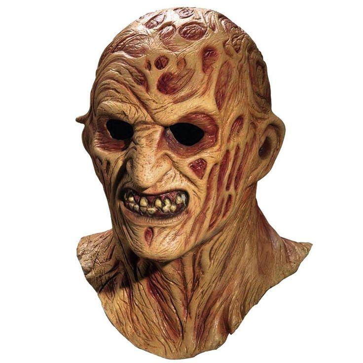 A Nightmare On Elm Street Freddy Krueger Deluxe Mask from Warner Bros.: Complete your Nightmare on Elm Street… #Movies #Films #DVD Video