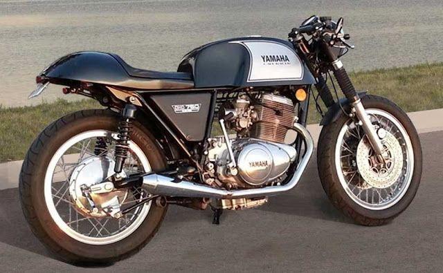 Yamaha Tx750 Cafe Racer Photos