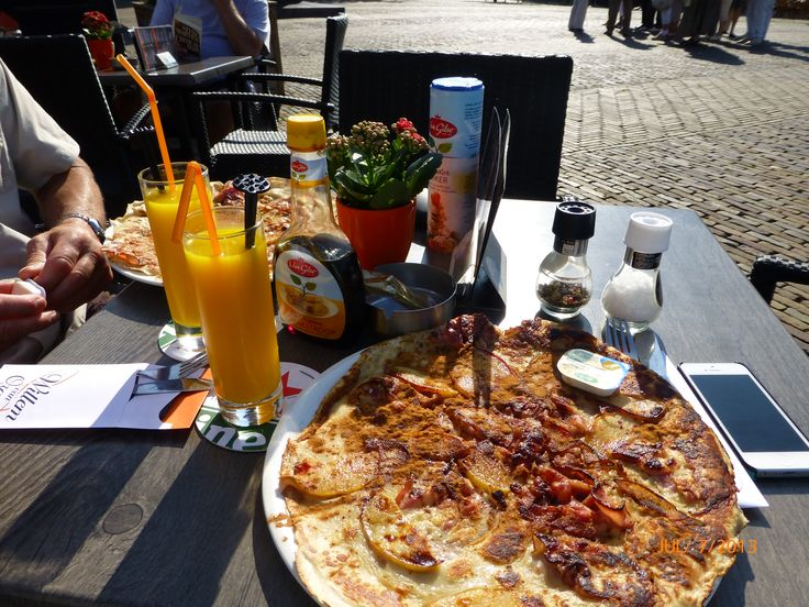 Dutch Apple and Bacon Pannenkoek - Delft - Yummmmm!