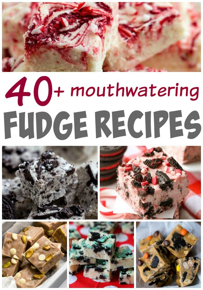 The BEST fudge recipes rounded up from around the web all in one spot! A MUST for the Holidays!