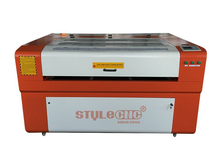 STJ1490 Acrylic Laser Cutting Machine is available for engraving and cutting acrylic, color plates, ABS board, rubber, plastic, cloth toys, leather, wool, crystal, glass, etc. Now the laser cutting machine for sale with reasonable price.