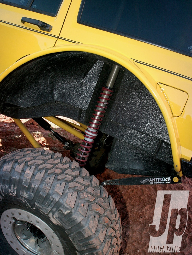 Jeep Yj Coilover Conversion Kit