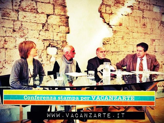 Conferenza stampa per gli art hotel del trentino www.vacanzarte.it. Margherita pisoni, consulente Ideaturismo in stage! ;-) by Idea Turismo, via Flickr