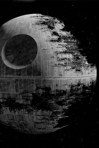 Wallpaper | iPhone : Deathstar Star Wars