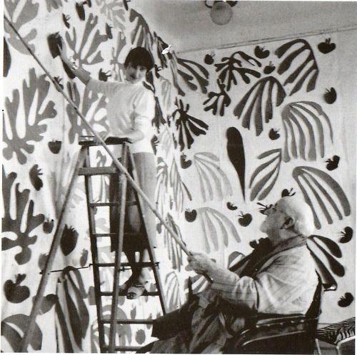 seated paint posture / Henri Matisse