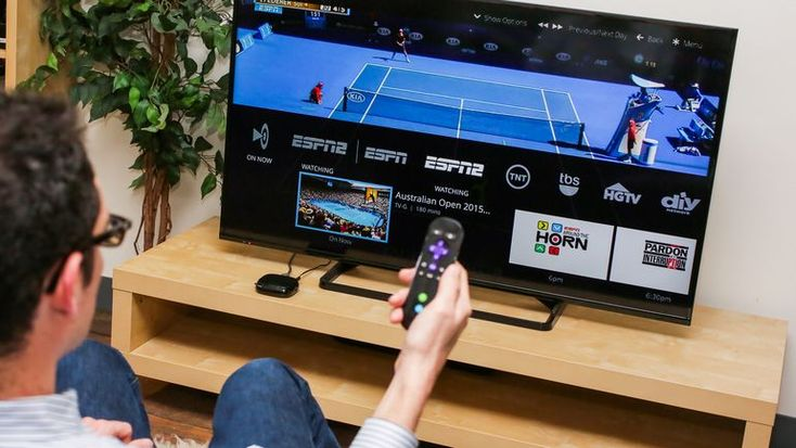 """For the price of a cheap family dinner, Sling TV """"unbundles"""" traditional cable TV channel lineups with a handful of Internet-delivered channels, including ESPN, AMC, TNT, CNN and Disney. But is there a catch?"""