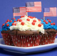 Columbus Day cupcakes are fun to prepare and make a delicious snack for everybody.