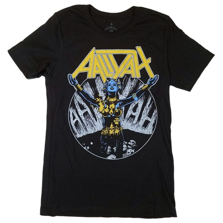 Image of Aaliyah Anthrax T-Shirt