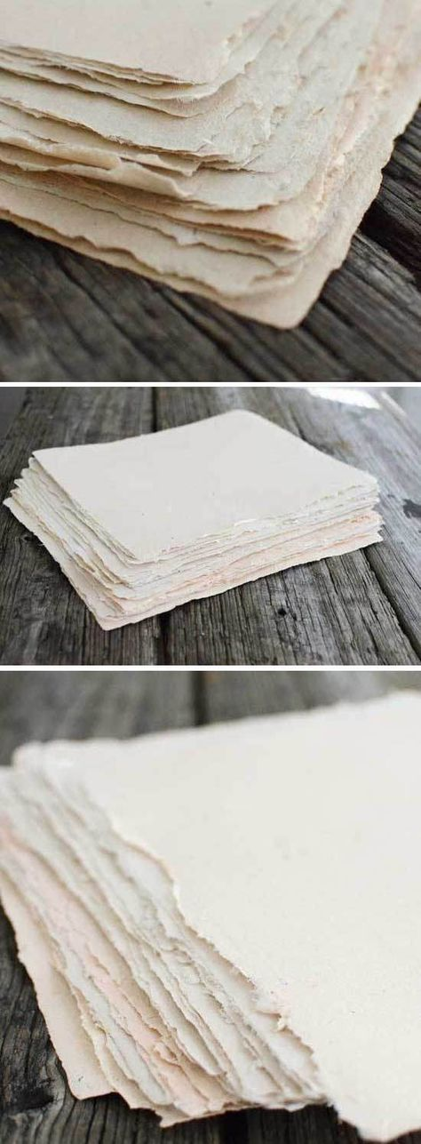 Как сделать бумагу своими руками