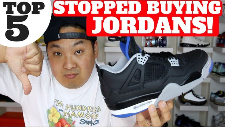 TOP 5 REASONS I STOPPED BUYING JORDAN RETROS! Feels 22 Sneakers...  Shop the top sneaker deals of the week here! (including Jordan 4 Motorsport for only $124!) http://www.collectivekicks.com/2017/06/top-sneaker-deals-of-the-day-week-632017/ WATCH HERE! TOP 5 SNEAKER VIDEOS...