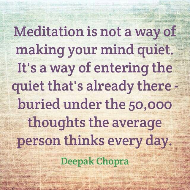 Meditation Loved and pinned by www.downdogboutique.com