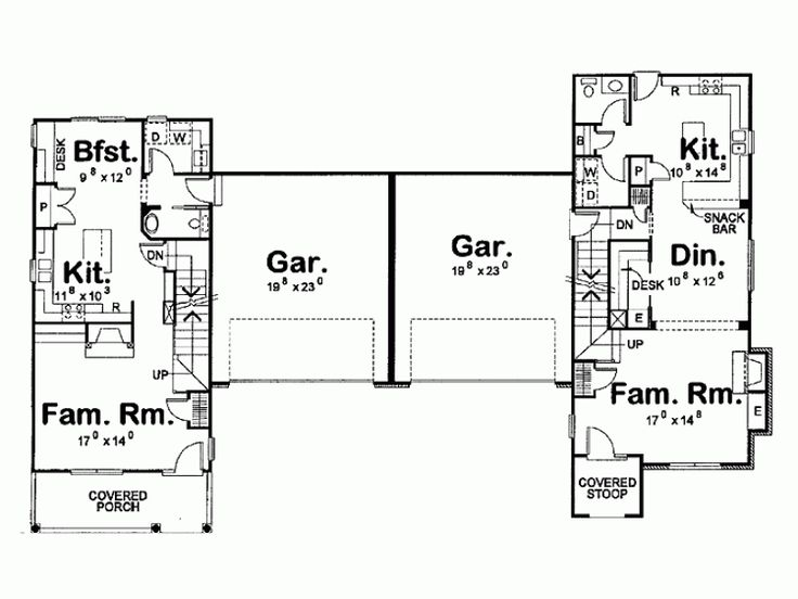 40 best income properties images on pinterest income for Income property floor plans