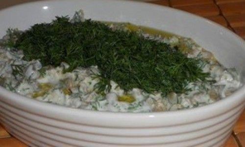 Yoğurtlu Mercimek Salatası Tarifi