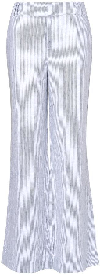 House of Fraser Phase Eight Rue stripe linen trousers on shopstyle.com