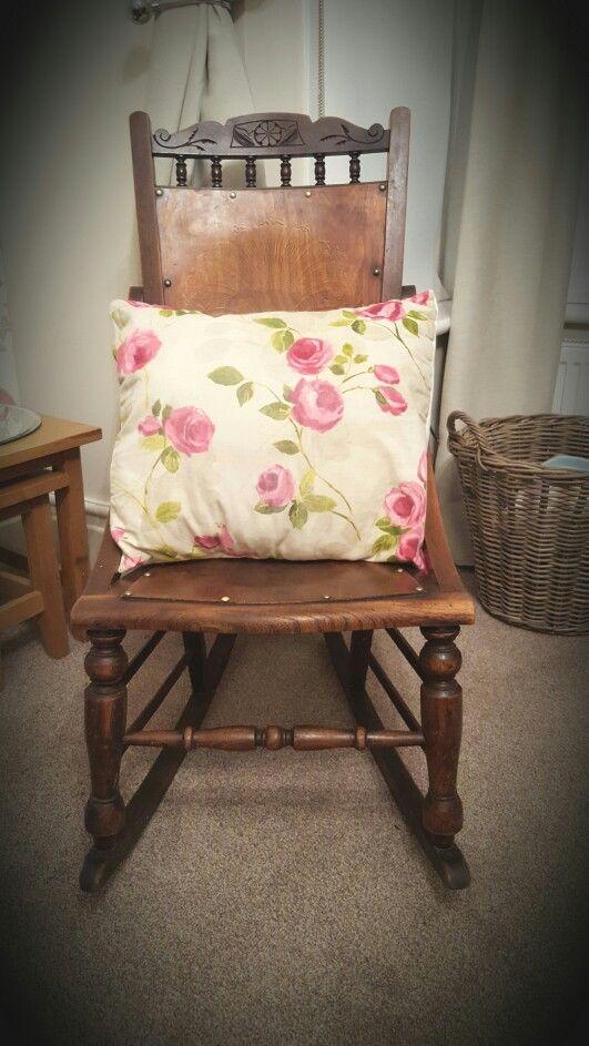 My Grandmas rocking chair  House - Our house  Pinterest  Rocking ...