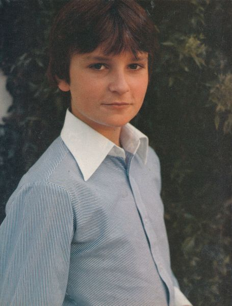 Jonathan Scott Taylor - aka Damien from Omen II. I had this poster hanging on  wall when I was ten! I was mad for this Limey!