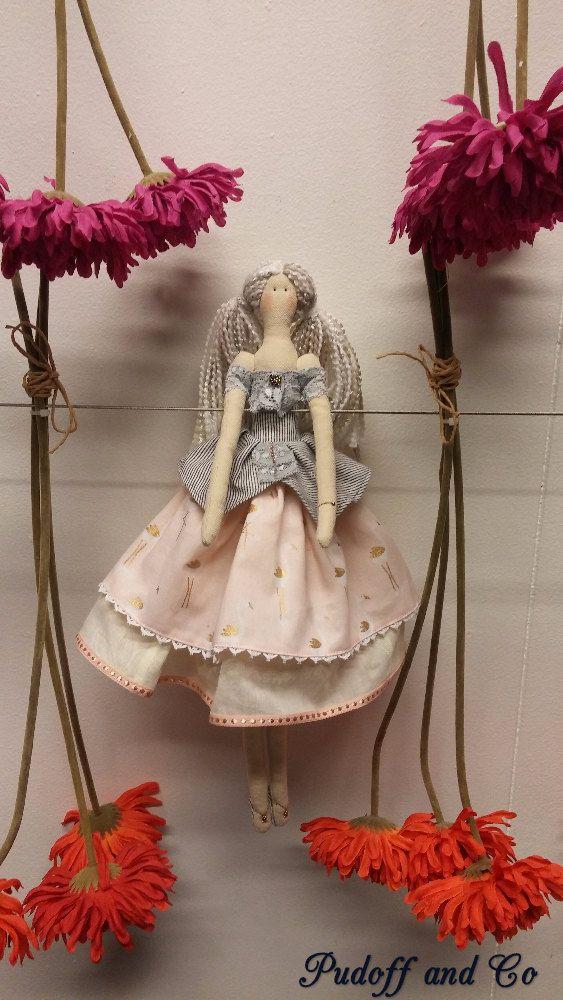 Handmade Tilda Doll by PUDOFFandCO on Etsy
