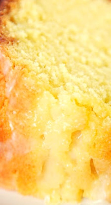 Lemon Sour Cream Pound Cake ~ The most AMAZING pound cake ever... So easy and delicious! Top the cake with a lemon glaze for more yummy lemon flavor - Everyone will ask for the recipe!