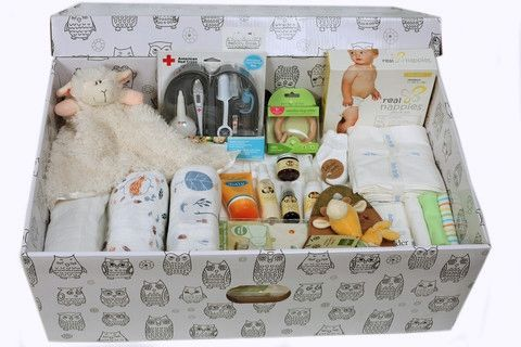 Baby Box Company's take on Finland's Baby Boxes. Available for order. | giveaways — Pregnant Chicken