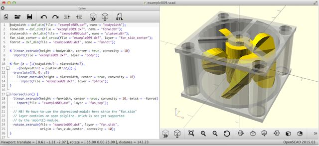 OpenSCAD Computer Aided Design Computer Aided Engineering Original link http://ift.tt/2zz0jeM