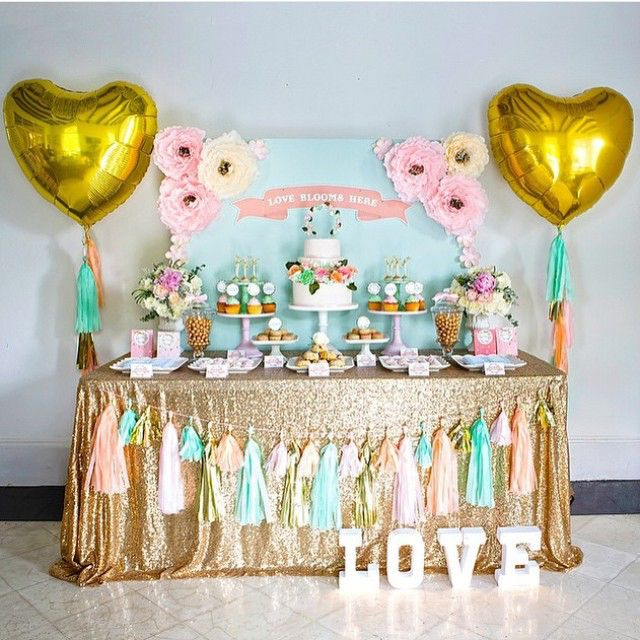 Image Result For Buffet Table Decor