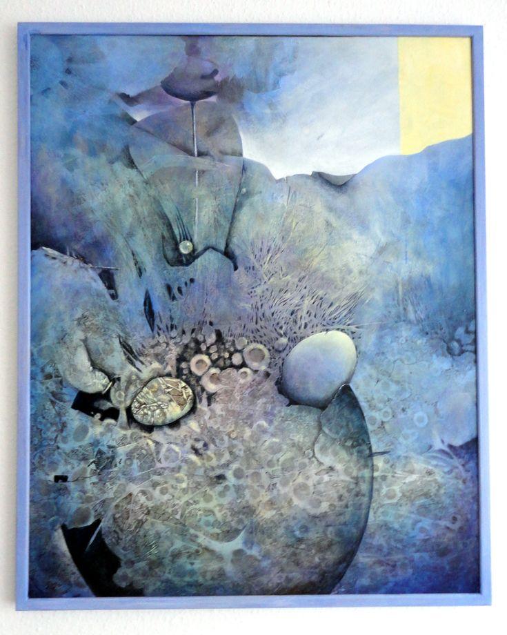 "Gerda Lipski ""Genesis"" Acryl auf Keilrahmen 80 x 100"