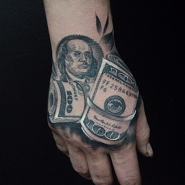 100 100 dollar bill tattoos stencil 80 money rose tattoo designs for men cool currency. Black Bedroom Furniture Sets. Home Design Ideas