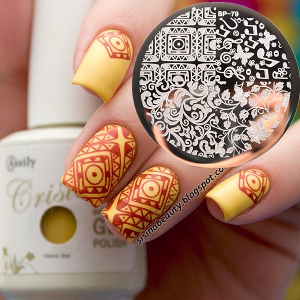New pattern  Nail Art Stamping Template Image Plate BORN PRETTY BP79