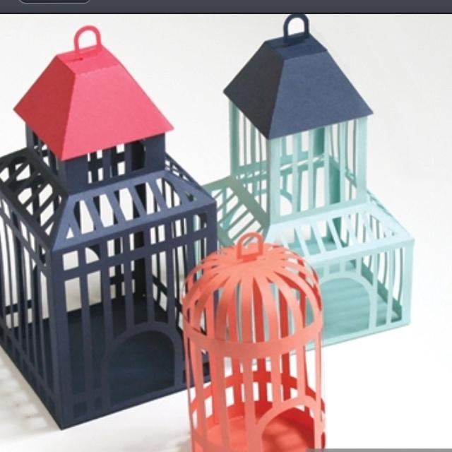 paper birdcages
