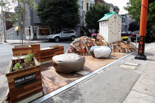 Fabric8 Creates San Francisco Parklet From Materials Found in the Dump - http://www.fabric8.com/