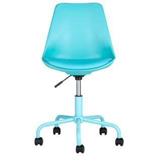 Buy Brady Mid Back Chair - Blue at Argos.co.uk, visit Argos.co.uk to shop online for Office chairs, Sofas, armchairs and chairs, Limited stock Home and garden