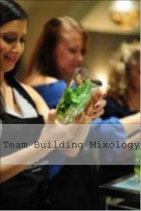 team building mixology classes
