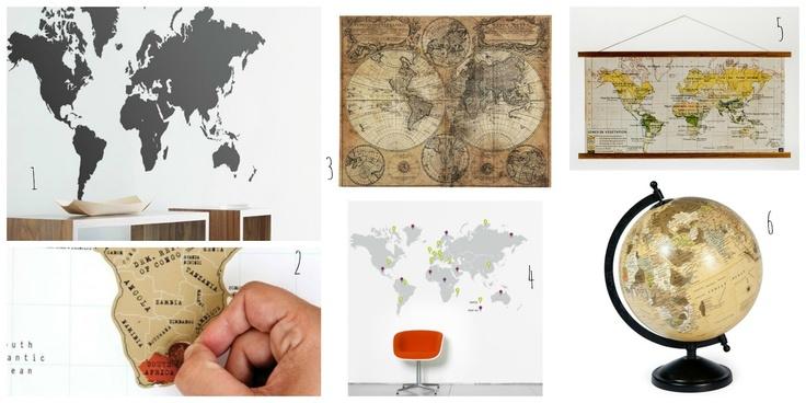 une d co d 39 aventurier la carte ohlovelyplace deco. Black Bedroom Furniture Sets. Home Design Ideas