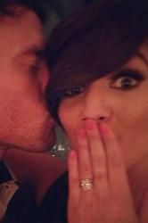 Frankie Sandford Engaged to Wayne Bridge