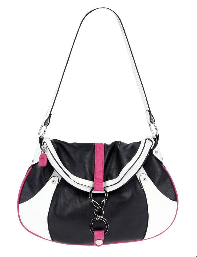Kabelka Playboy Colourblock Small Shoulder Bag Black