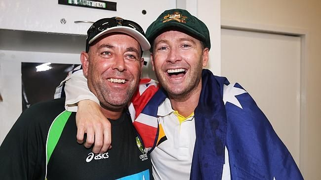 Michael Clarke- Australian Cricket Captain Boof- Australian Cricket Coach