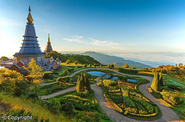 Doi Inthanon National Park is a true jewel of natural beauty, consisting of rugged mountainous terrain blanketed by lush tropical forests and dotted with mighty rivers and majestic waterfalls. The park's protected status makes it a sanctuary for a wide range of animal species and it is perhaps the