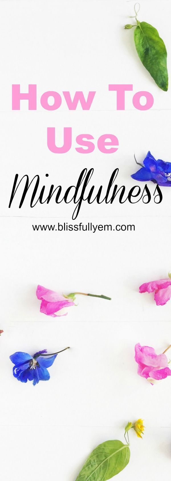 How to use mindfulness everyday. This is for beginners to seasoned pros, everyone can benefit! Use mindfulness to reduce stress and combat any negative mental health symptoms.