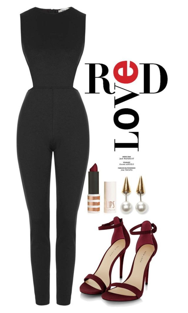 """""""Untitled #297"""" by margaridasilv ❤ liked on Polyvore featuring moda, Topshop y Fallon"""