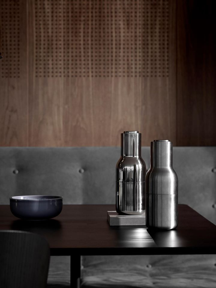 Scandinavian design favourites SS16 - Menu bottle grinders, Afterroom bench