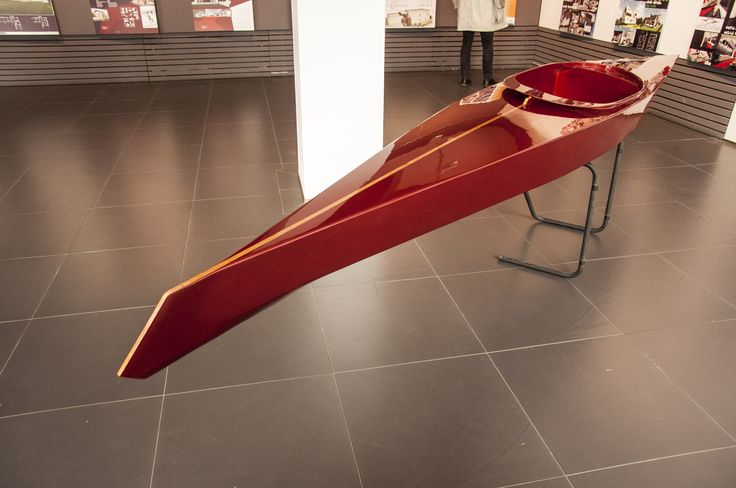 KAYAK Superleggera 470 - all handcrafted wood boat. Superleggera Wooden Kayak has its starting base the Caveleri Lusso Kayak but with a much more dynamic shape. It has been lowered by 40mm for better paddling. The front end its redesigned .The boat will have less overall detailing, making the Superleggera a fast and minimal looking fitness kayak!