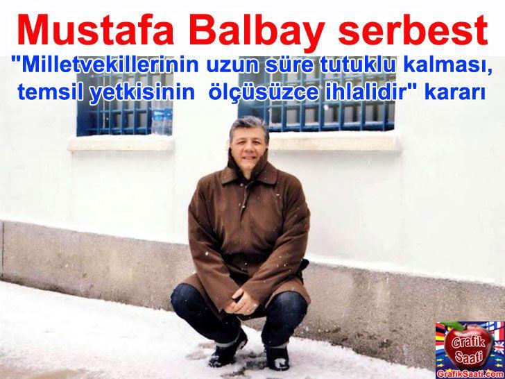 Mustafa Balbay serbest bırakıldı Turkey politics ergenekon